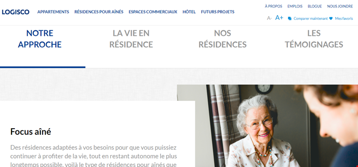 page residence pour aines 2