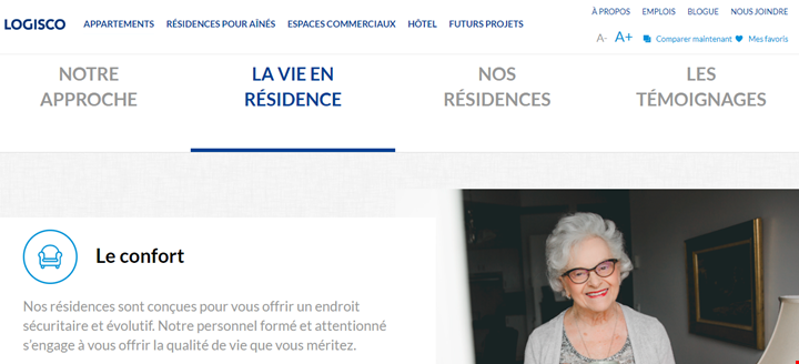 page residence pour aines 3
