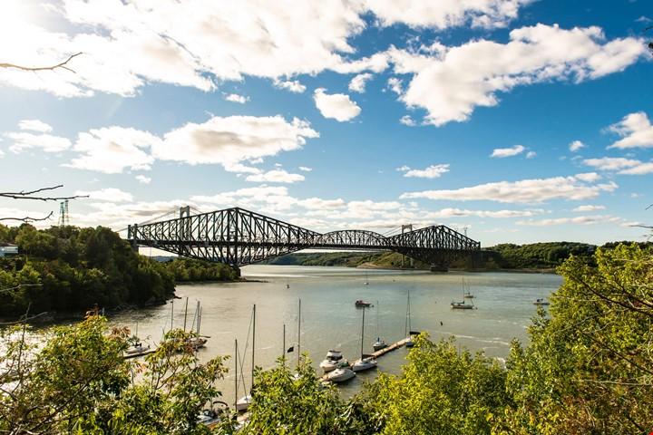 pont pierre-laporte et pont de quebec